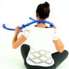Massera muskler och triggerpunkter i nacken med Bodybackbuddy Orginal