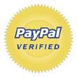 Vi är veriferad av PayPal för säker betalning